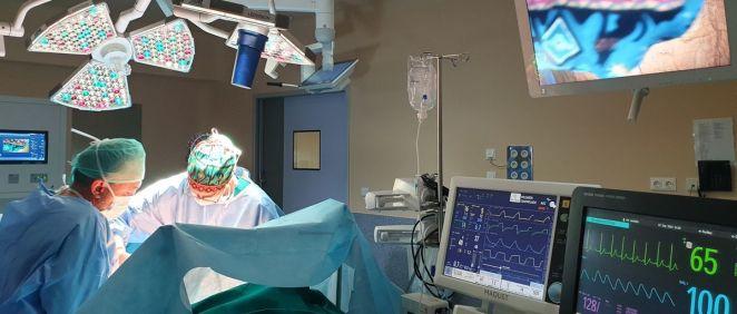 Quirófano integrado del Hospital Severo Ochoa. (Foto. ConSalud)