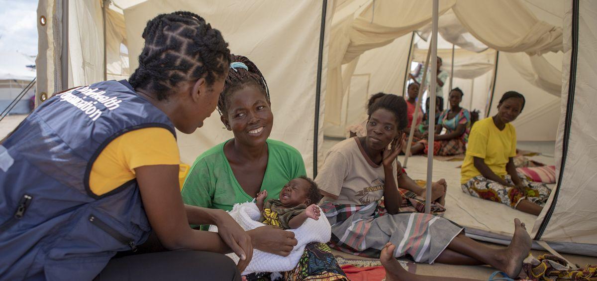 Los niños enfrentan el mayor riesgo de morir en el primer mes. (Foto. OMS)