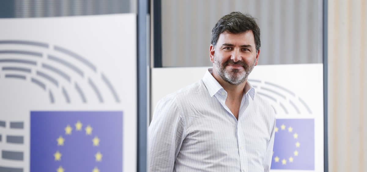 El eurodiputado socialista Nicolás González Casares. (Foto. Flickr Socialistas Parlamento Europeo)
