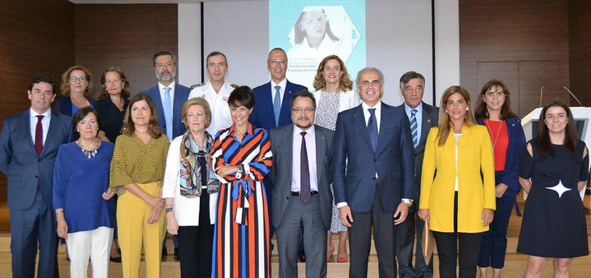 Inauguración del IV Encuentro de Asociaciones Profesionales Farmacéuticas (Foto. @COFMadrid)