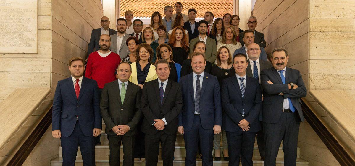Visita institucional al Ayuntamiento de Albacete (Foto. Castilla La Mancha)