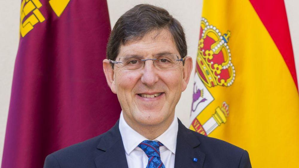 Manuel Villegas, consejero de Salud de la Región de Murcia (Foto: CARM)