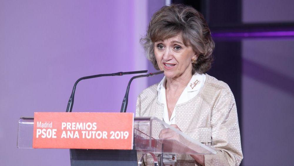 María Luisa Carcedo, ministra de Sanidad en funciones y secretaria de Sanidad del PSOE (Foto: PSOE / Eva Ercolanese)