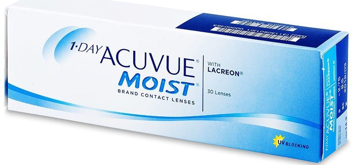 Retirada de lotes de lentes de contacto 1 Day Acuvue Moist.