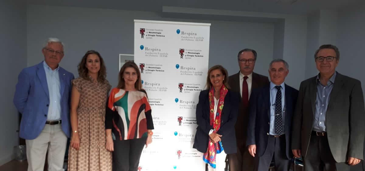 Acuerdo de colaboración entre SENP y Separ (Foto. ConSalud)