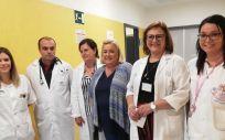 Miembros del Hospital Infanta Elena de Huelva (Foto. Twitter Consejería de Salud Andalucía)