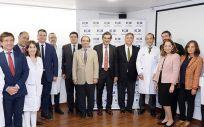 Miembros de HM Hospitales y The Start Center (Foto. ConSalud)