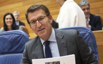 El presidente de la Xunta de Galicia, Alberto Núñez Fejóo, durante el Debate del Estado de la Autonomía. (Foto. Xunta)