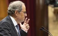 Quim Torra, presidente de la Generalitat de Cataluña (Foto: Parlament)