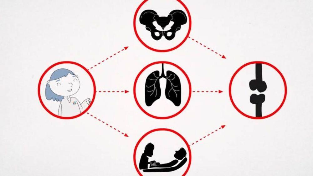 Imagen del vídeo de la campaña '12 meses, 12 consejos de salud', de los colegios profesionales de fisioterapia. (Foto. Colegio de Fisioterapias de la Comunidad de Madrid)