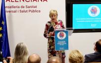 Ana Barceló, consejera de Sanidad de la Comunidad Valenciana (Foto. Comunidad Valenciana)