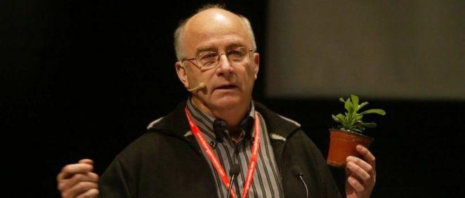El divulgador de pseudoterapias Josep Pàmies (Foto: Dulce Revolución)