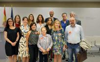 Foto de Familia del equipo del proyecto 'Heart Healthy Hoods' tras su presentación de los resultados en el Ministerio de Sanidad. (Foto. ConSalud)