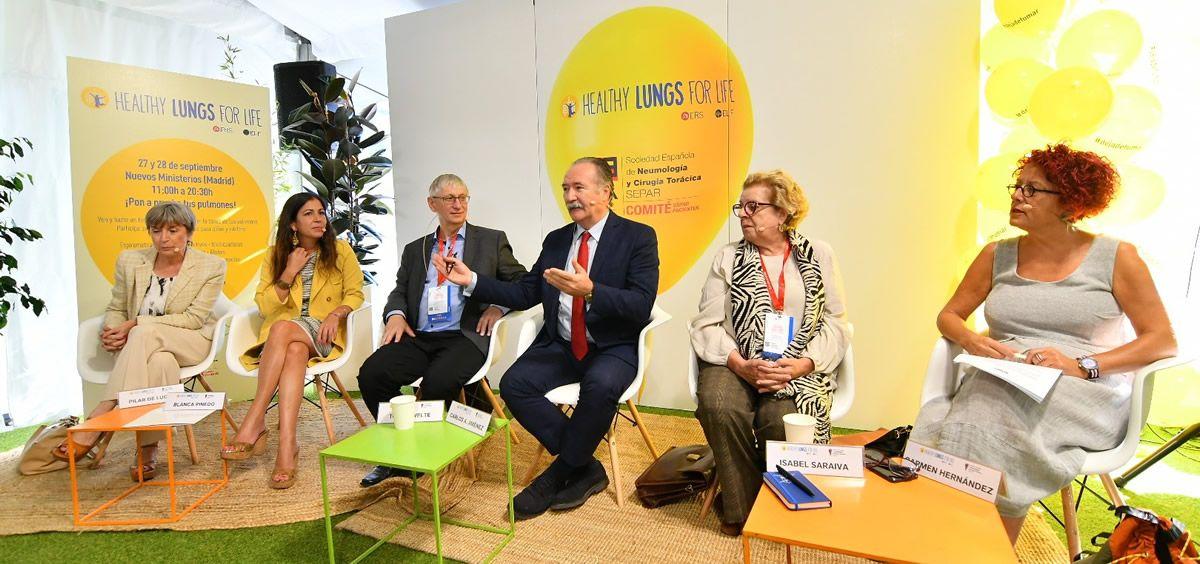 Imagen durante la rueda de prensa (Foto. ConSalud.es)