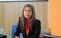 Paola Beltrán-Troncoso, responsable del Servicio de Cardiología del Hospital del Viladecans (Foto.Sociedad Española de Cardiología)