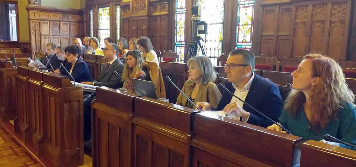 Comparecencia del consejero de Sanidad de Asturias, Pablo Fernández Muñiz (Foto. AsturSalud)
