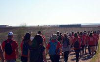 Tercera ruta V Camino de Cervantes (Foto. Torrejón Salud)