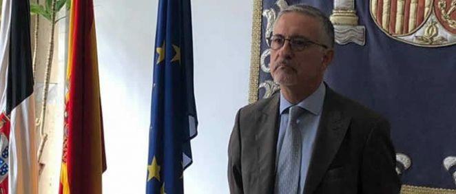 Alfonso Jiménez, director general de Ingesa (Foto. Twitter)