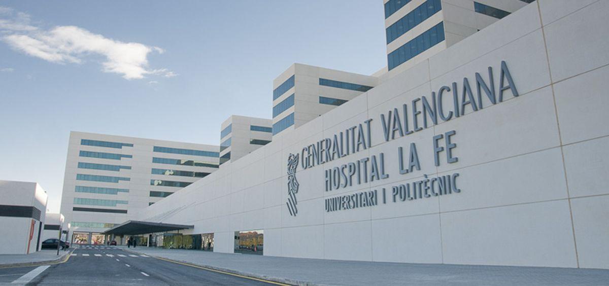 Hospital Universitario y Politécnico La Fe de Valencia (Foto. Hospital La Fe)
