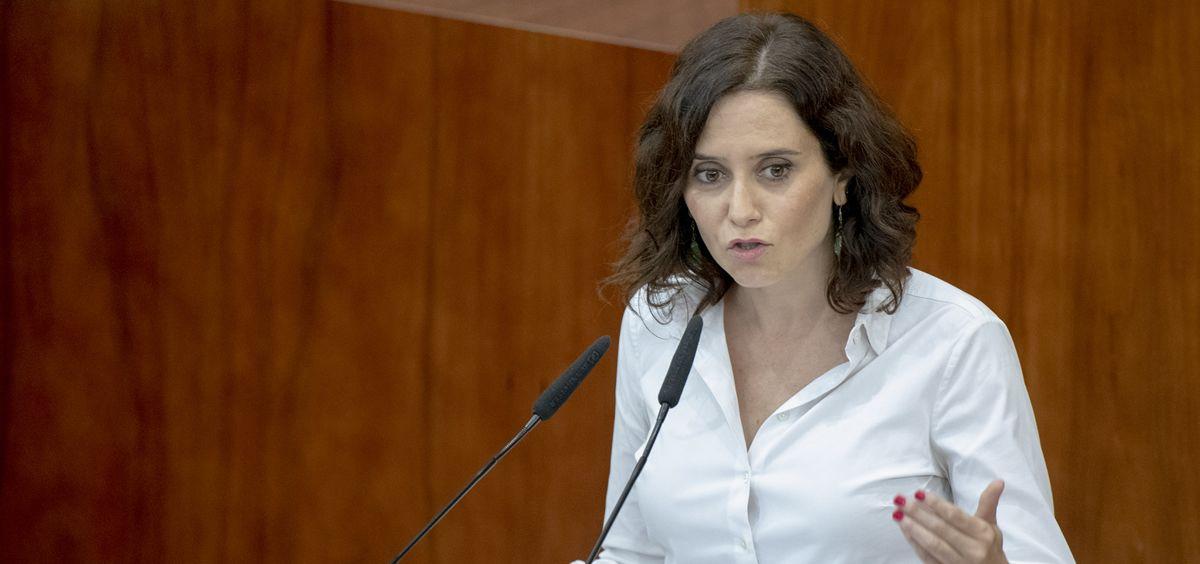 Isabel Díaz Ayuso, presidenta de la Comunidad de Madrid. (Foto. Flickr PP Madrid)