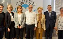 """Presentación del estudio """"Usos y actitudes de los pacientes ostomizados""""  (Foto. ConSalud.es)"""