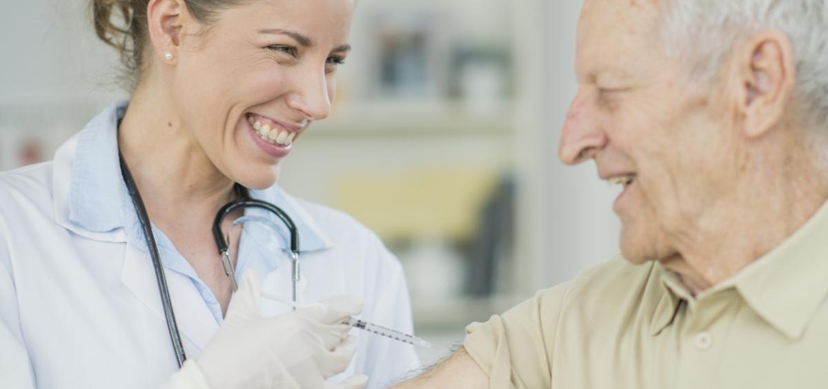 Vacunación contra la gripe (Foto. Xunta de Galicia)