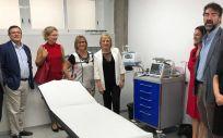 Ana Barceló visitando el centro de salud de Picassent (Foto. Genetalitat Valenciana)