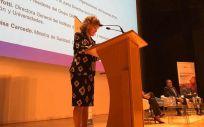 Carcedo inaugura el III Congreso de Organizaciones de Pacientes. (Foto. Ministerio de Sanidad)