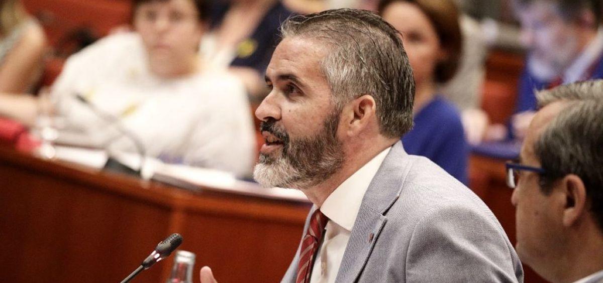 Jorge Soler, portavoz de Ciudadanos en la Comisión de Salud del Parlamento de Cataluña (Foto: C's Cataluña)