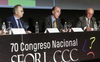 El consejero de Sanidad, Jesús Vázquez Almuiña durante el acto de inaugruación (Foto. Xunta de Galicia)