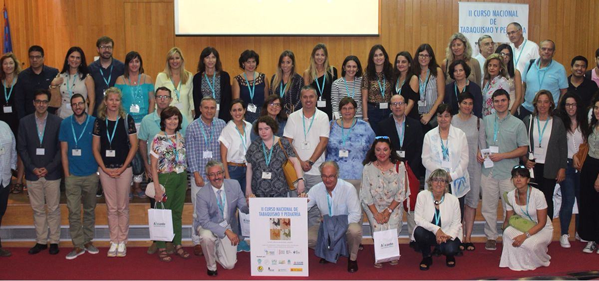 II Curso Nacional de Tabaquismo en Pediatría (Foto. Hospital General de Alicante)