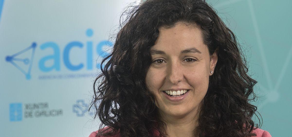 Beatriz Allegue, gerente de la Agencia de Conocimiento en Salud (ACIS) del Servicio Gallego de Salud. (Foto. Xunta)