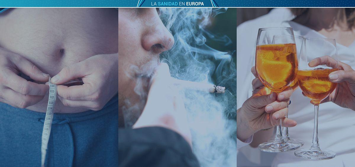 Índices de obesidad, tabaco y alcohol en los sistemas sanitarios de la UE (Foto: ConSalud.es)