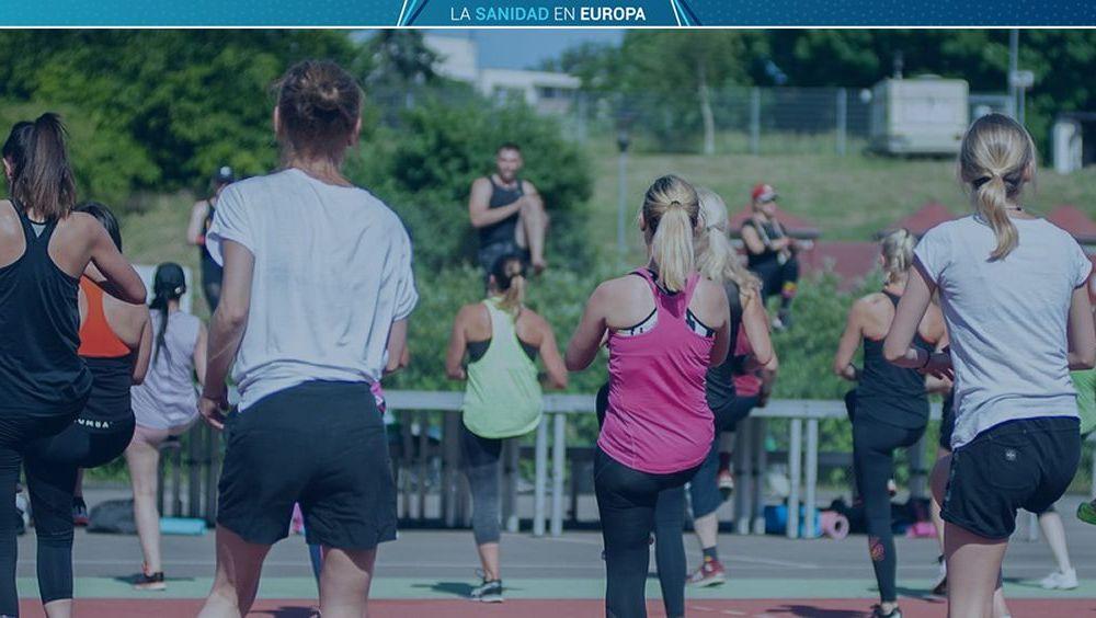 Chicas haciendo ejercicio. (Foto. Fotomontaje ConSalud)