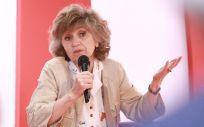 María Luisa Carcedo, ministra de Sanidad, Consumo y Bienestar Social, durante un acto político del PSOE. (Foto. Flickr PSOE)