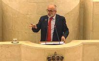 Miguel Rodríguez, consejero de Sanidad de Cantabria (Foto: PSC-PSOE)