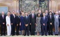 Sus Majestades los Reyes respaldan al mayor congreso de la dermatología europea. (Foto. ConSalud)