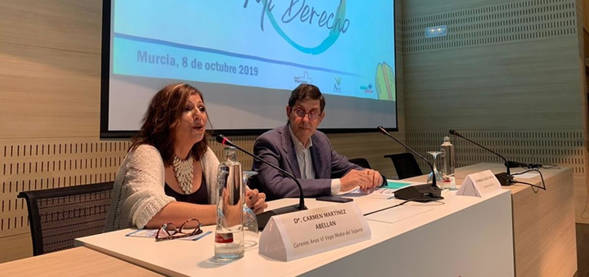 Primera Jornada de Paliativos de la Región de Murcia. (Foto. Servicio Murciano de Salud)