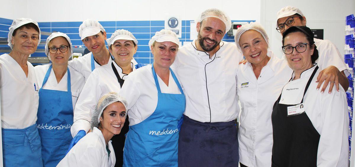 Cocina con estrella Michelin para pacientes del Hospital Universitario del Vinalopó. (Foto. ConSalud)