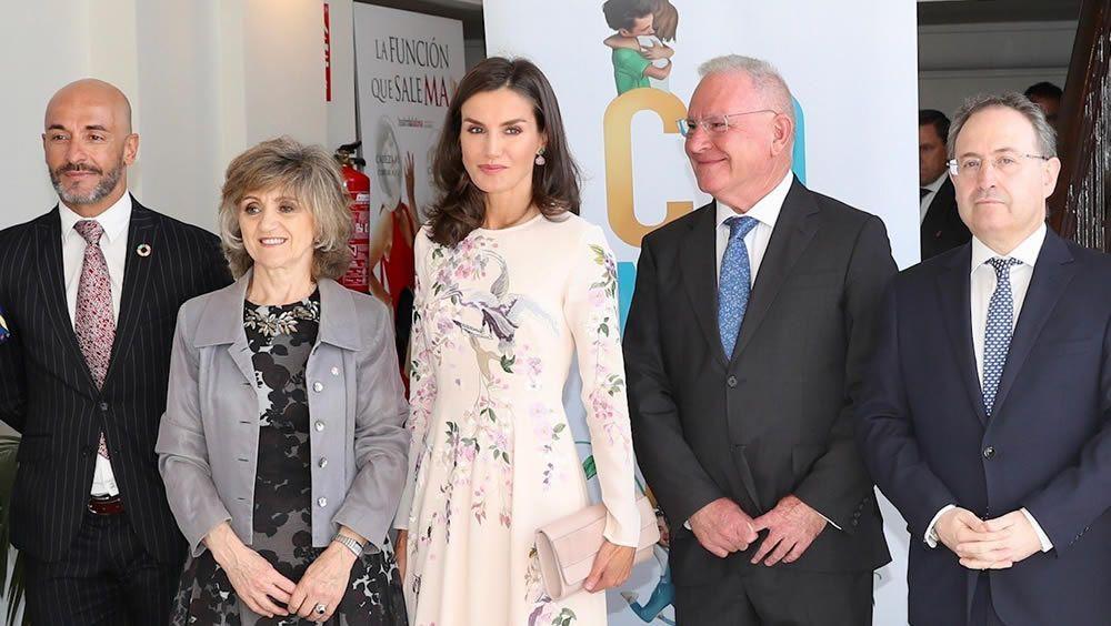 La Reina Letizia y Carcedo, juntas por el Día Mundial de la Salud Mental