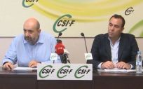 Representantes de CSIF (Foto: CSIF)