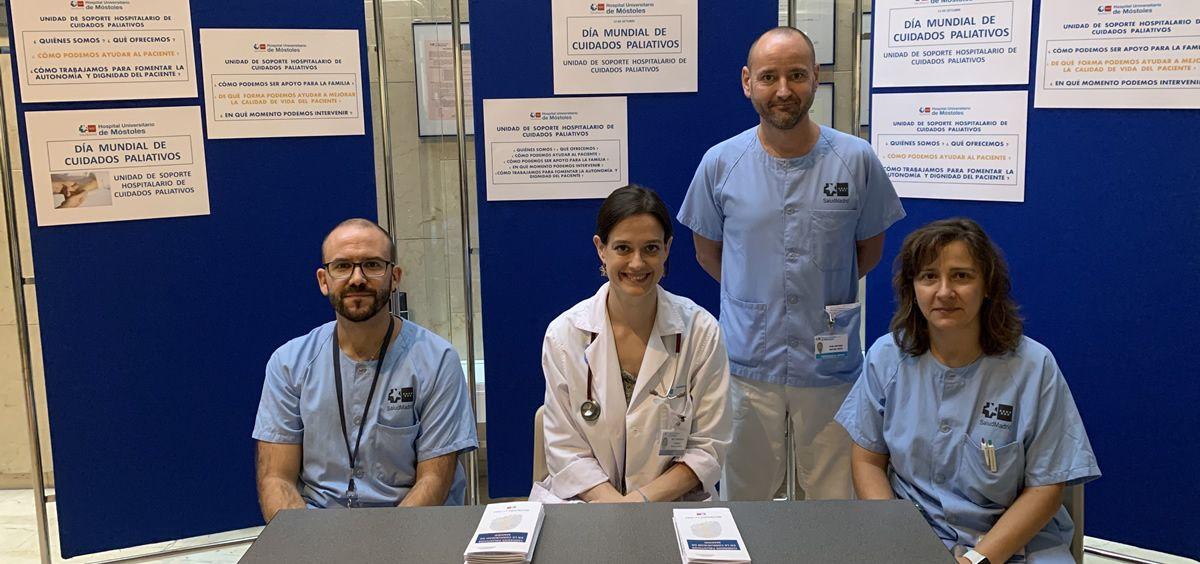 Médicos de paliativos del Hospital de Móstoles (Foto. Comunidad de Madrid)