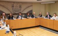 Comisión de Salud del Parlamento de La Rioja durante su reunión del 8 de octubre (Foto. Gobierno de La Rioja)