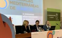 Villegas en la inauguración de las II Jornadas Mediterráneas de la Diabetes (Foto. Región de Murcia)
