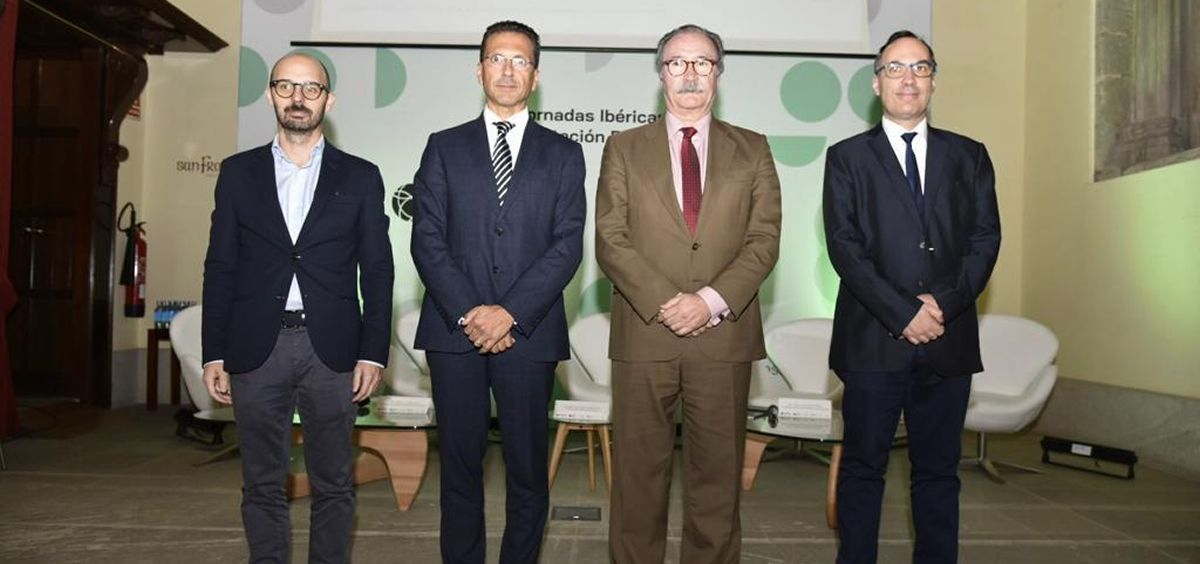 Inauguración oficial de la 'I Jornada Ibérica de Rehabilitación Respiratoria' | Fotos: Miguel Ángel Escobar