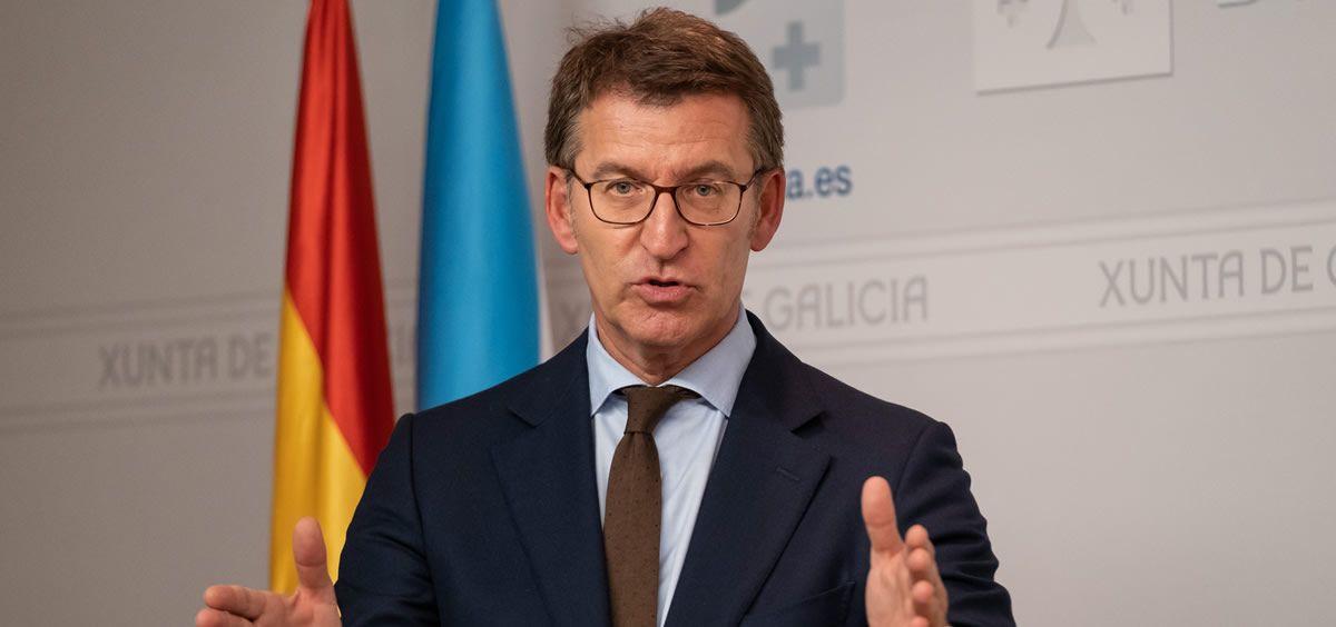 El presidente de la Xunta de Galicia, Alberto Núñez Feijóo. (Foto.Xunta de Galicia)