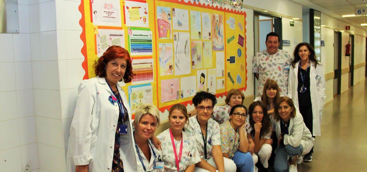Personal del Hospital Clínico San Carlos (Foto. ConSalud)
