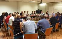 Mesa Sectorial de Sanidad en la que se han reunido los sindicatos con el director general de Recursos Humanos (Foto. Gobierno de Canarias)