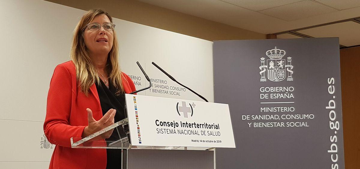 Patricia Gómez, consejera de Salud y Consumo de Baleares.
