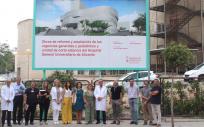 Asistentes a la firma del acta del proyecto de reforma del Hospital General de Alicante (Foto. Generalitat Valenciana)